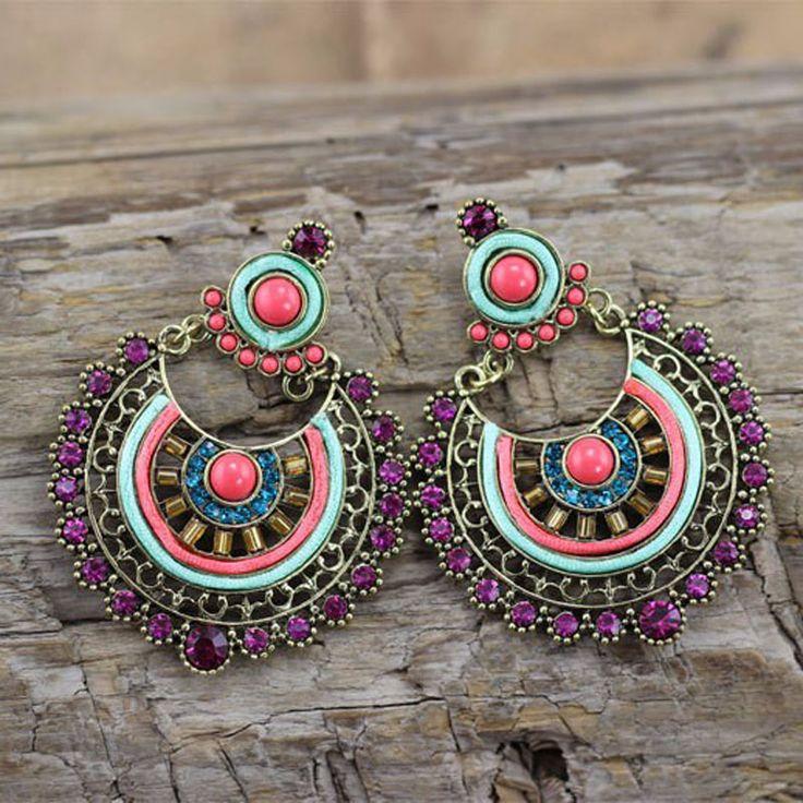 Tibetan Ethnic Earrings //Price: $ 11.99 & FREE Shipping //     #jewelry #jewels #jewel #fashion #gems #gem #gemstone #bling #stones   #stone #trendy #accessories #love #crystals #beautiful #ootd #style #accessory   #stylish #cute #fashionjewelry  #bracelets #bracelet #armcandy #armswag #wristgame #pretty #love #beautiful   #braceletstacks #earrings #earring