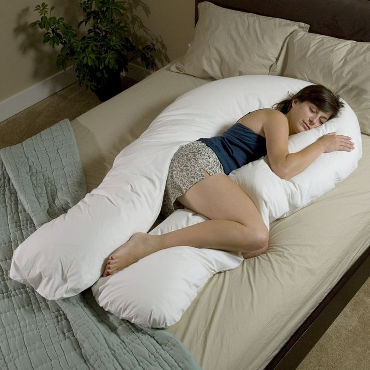 The Total Body Support Pillow. I have to get one of these!