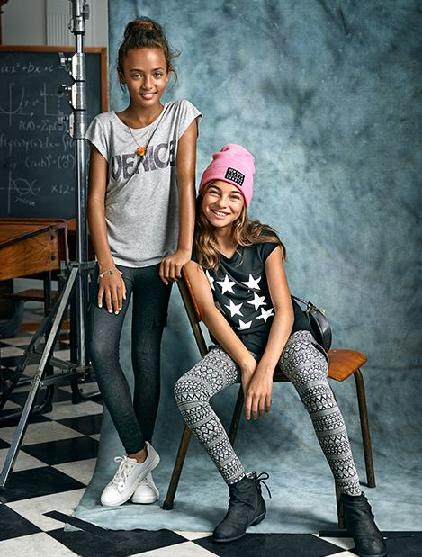 Star students will love these expressive graphic tees for back-to-school season. | H&M Kids