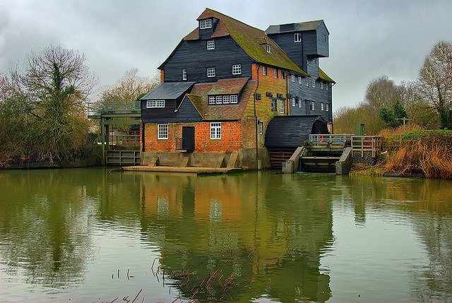 Houghton Mill, National Trust, Cambridgeshire,England,