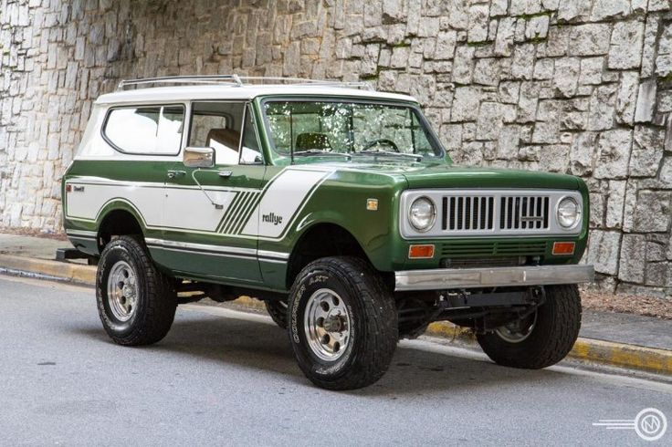 1973 International Scout II saw one of these just the other day. But not as nice as this
