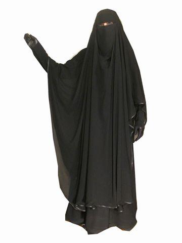 Long Chiffon Khimar | Abaya & Islamic Clothing | Islamic Boutique