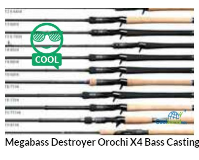 Megabass Destroyer Orochi X4 Bass Casting and Spin for more details visit http://coolsocialads.com/megabass-destroyer-orochi-x4-bass-casting-and-spin-74338