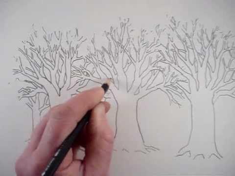 How to Draw Trees - line....V....line...V....line....V