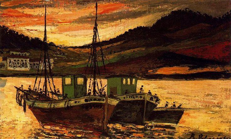 palencia - Barcos de pesca