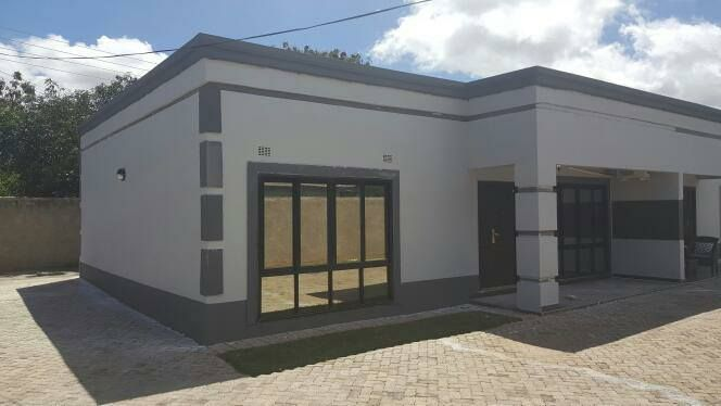 free flat roof house plan zambian - - Yahoo Image Search ... Zambian House Plans With Measurements on
