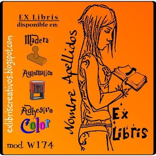 #ExLibris Chica con #libro Referencia  W174 Condición:  Nuevo producto Hazlo a tu manera, rechaza los dogmas y cuestiona lo establecido. Desprecia las modas y la sociedad de masas.