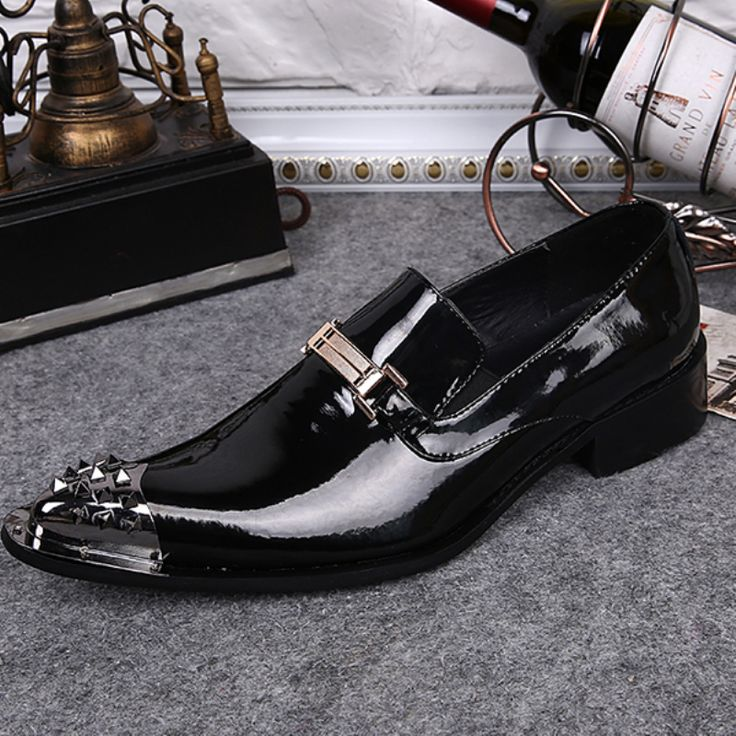 New Genuine Leather Men Dress Shoes Italian Men Flats Formal Business Shoes Pointed Toe Wedding Dress Loafers Shoes Plus Size