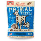 Holistic Freeze Dried Dog Treats Primal Beef Liver Munchies