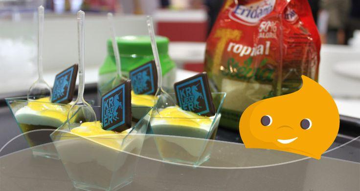Dal TuttoFood di Milano edizione 2015, Clara e Mellow portano a casa una ricetta leggera e deliziosa: bicchierini di Stevia