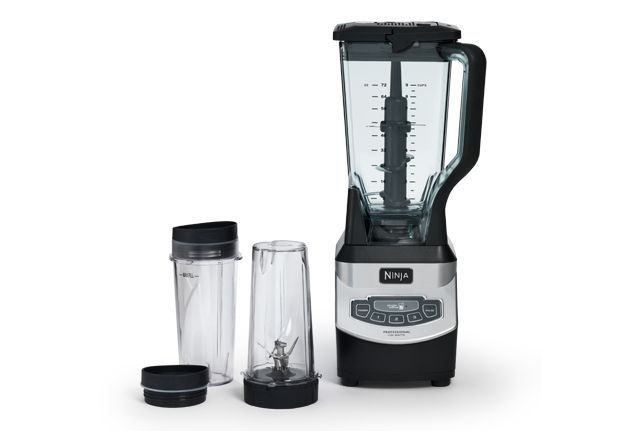 The Ninja Professional Blender with Single Serve lets you create resort-style frozen drinks for the entire family or healthy, personalized drinks for on the go.