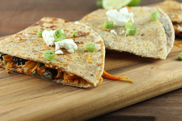 sweet potato and goat cheese quesadillas love quesadillas but hate the ...