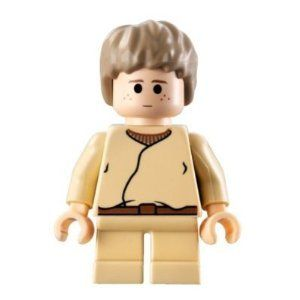 LEGO Star Wars LOOSE Mini Figure Child Anakin with Spanner — Price: $6.68