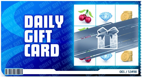 daily gift card
