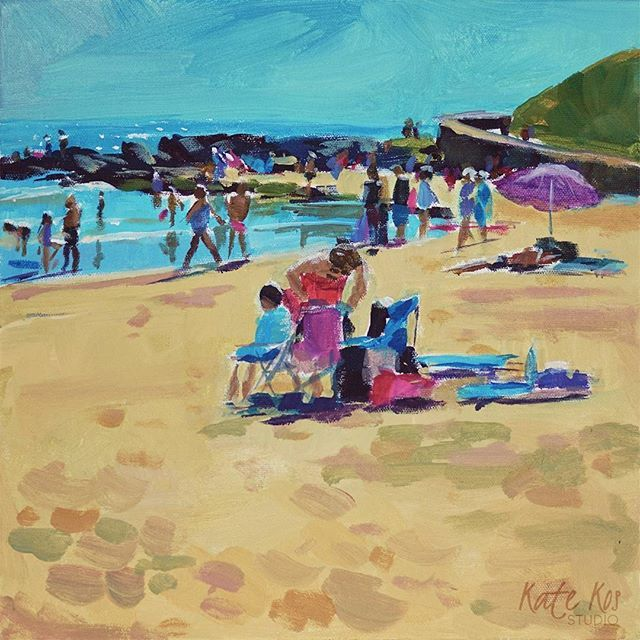 'Time To Go' - one of the #paintings from my new small #seascape series called 'Sand Stories' 30x30cm  #art #seascape  #painting #affordableart #irishart #ballymoney #summer #beachday #beach #irishbeach  #artistic_today #love_ arts_help #art_we_inspire #artinspiration2017 #acrylic