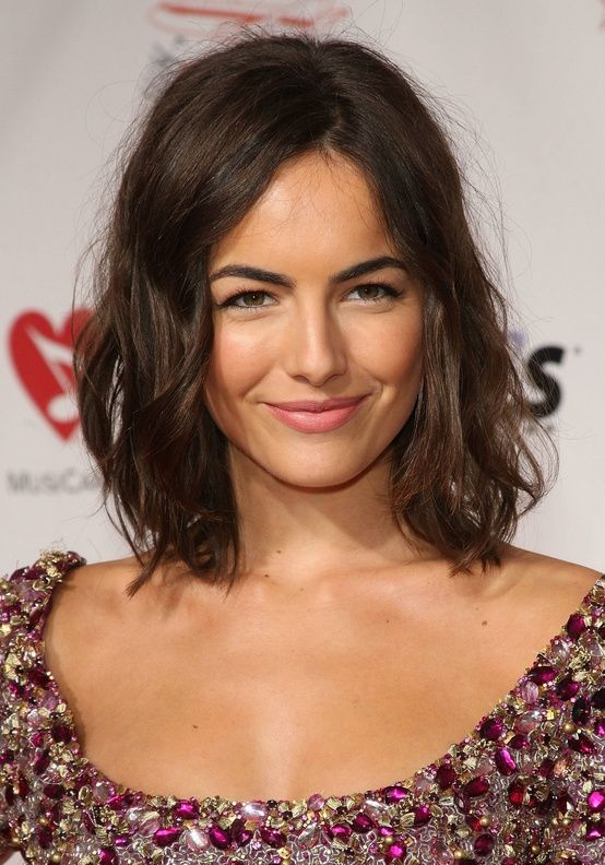 Someday I WILL chop off my hair. and it shall look like camilla belle.