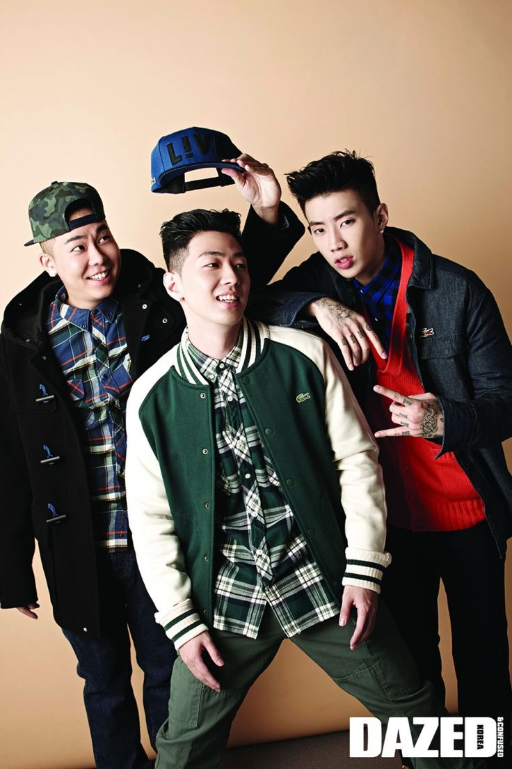 Jay Park, Loco and Gray - Dazed and Confused Magazine September Issue '14