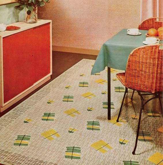 linoleum floor cloths 75 best linoleum dreams images on pinterest vintage kitchen