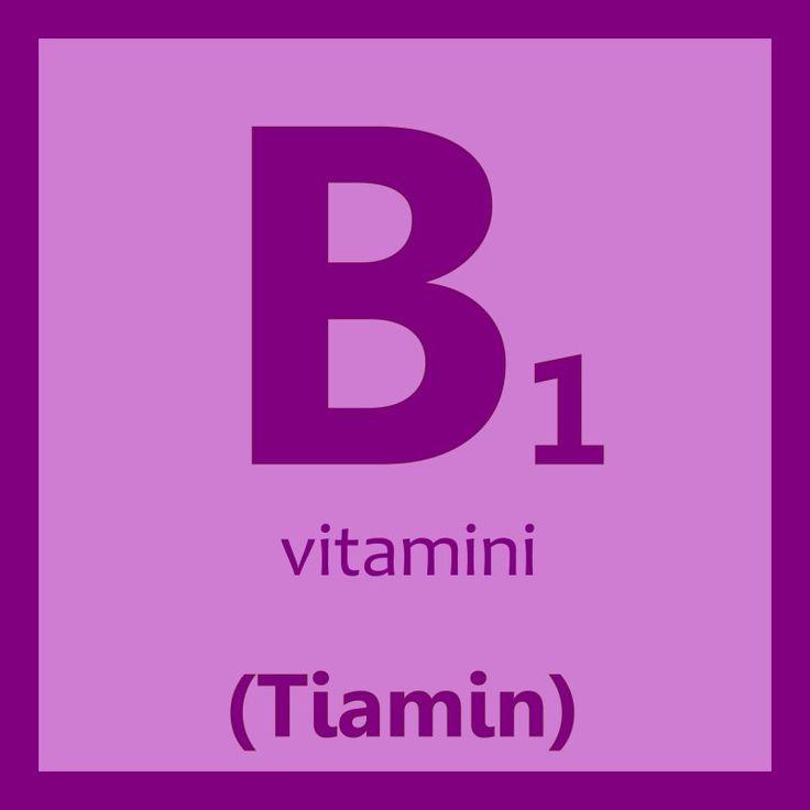 B1 vitamini faydaları nelerdir? B1 vitamini içeren gıdalar neler, hangi besinlerde bulunur? B1 vitamini eksikliği belirtileri neler? B1 vitamini fazla olan gıdalar.