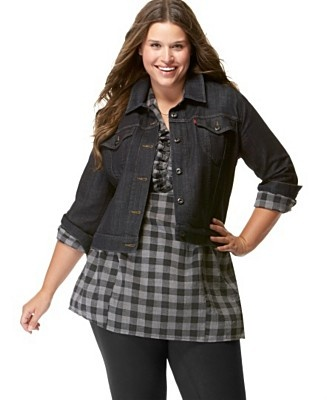 1000  images about Plus Size Jacket on Pinterest | Plus size ...