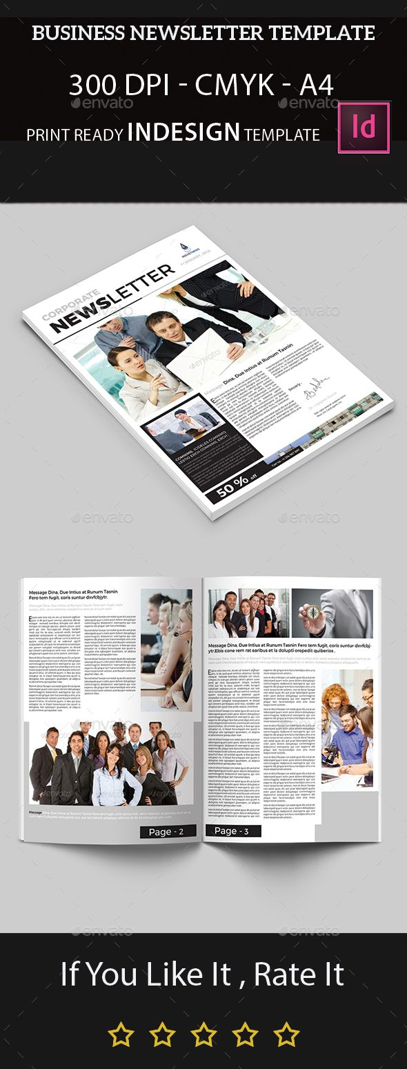 Business Newsletter Template - Newsletters Print Templates Download here : https://graphicriver.net/item/business-newsletter-template/14144425?s_rank=14&ref=Al-fatih