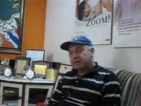 Andre Sytnyk got dental implants treatment.