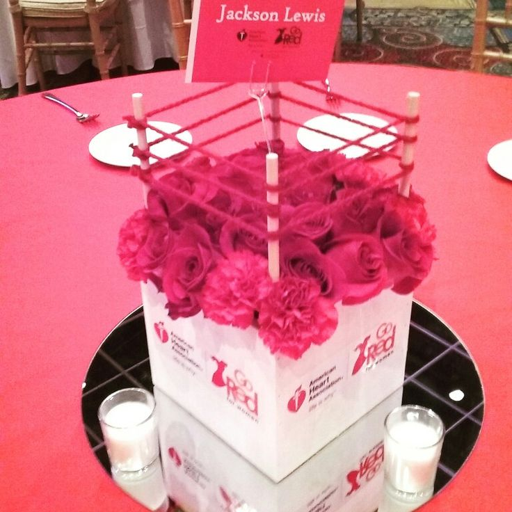 boxing ring centerpieces gored corporate centerpiece