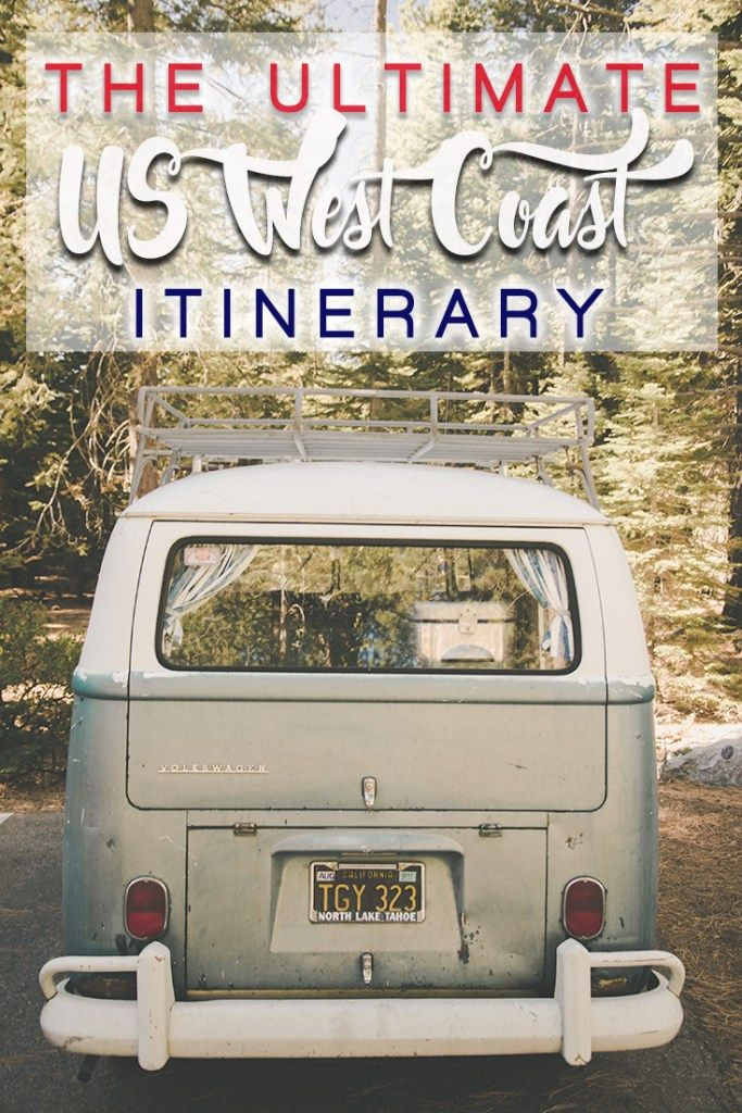 West Coast road trip itinerary – how to plan a perfect one?