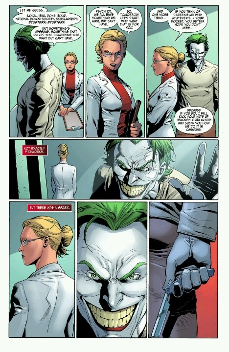Dr. Harleen and The Joker