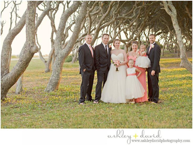 Wedding Venue Fort Fisher Beach NC Ashleydavidphotography