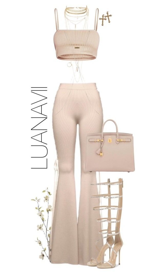 """Senza titolo #928"" by luanavii ❤ liked on Polyvore featuring Pier 1 Imports, Puma, Hermès, Topshop, Charlotte Russe, NLY Accessories, Rock 'N Rose, Tacori, GiuseppeZanotti and hermes"