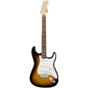 Fender Standard Stratocaster? - Brown Sunburst /Rosewood Fretboard 6-String Electric Guitar