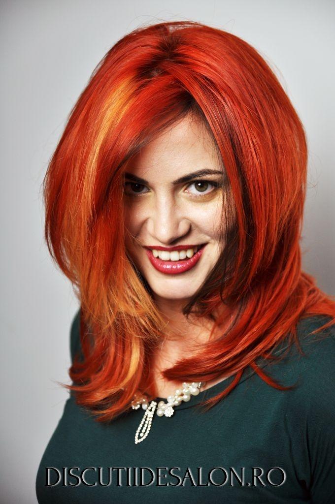 long hair , Beautiful Colored Hair, make-up, Colorful hair, discutiidesalon, vopsea par, vopsele par, culori par, Hairstylist: George Topirceanu www.cadoulmov.ro