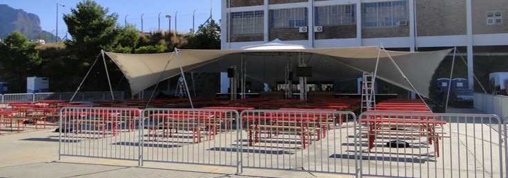 Tent at a Staged Event
