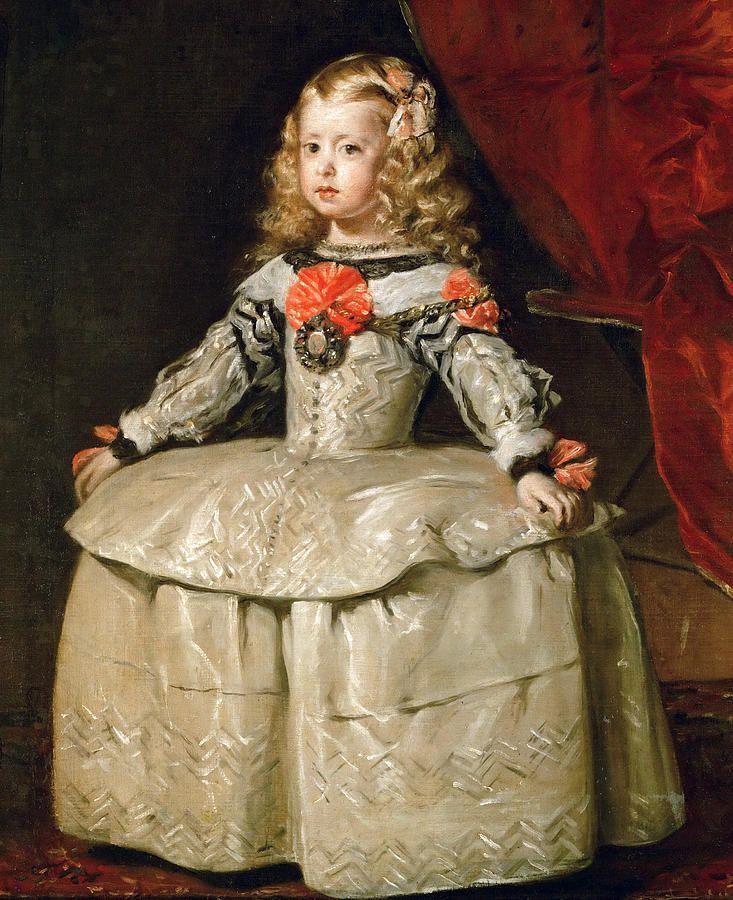 infanta-margarita-teresa-in-a-white-dress-diego-velazquez