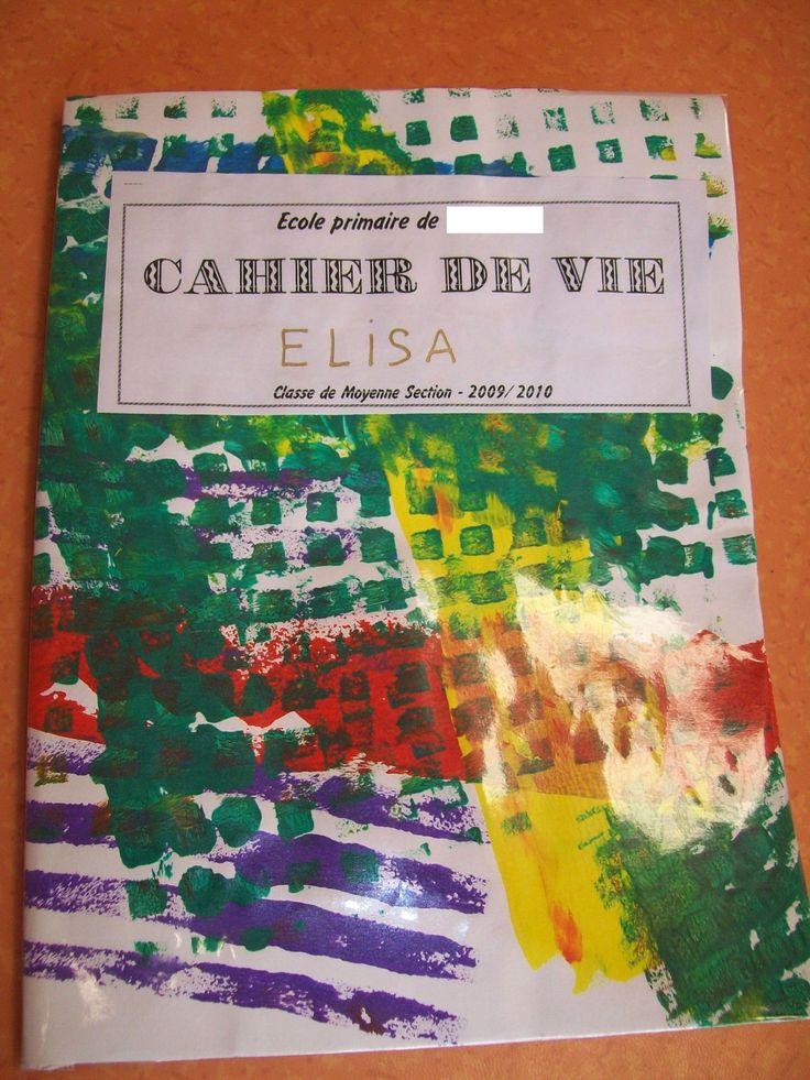 Rouleaux à motifs (couvertures de cahier de vie) - Des Arts Visuels à l'école maternelle