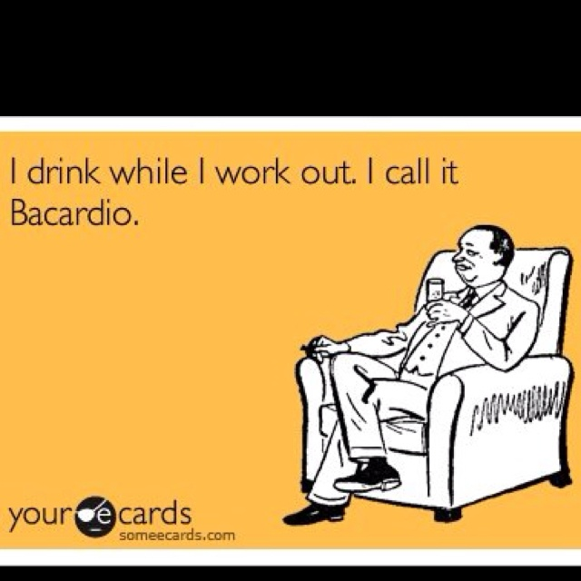 BacardioEnvelopes, Laugh, Quotes, Funny Stuff, Humor, Work Out, Ecards, Bacardio, Workout