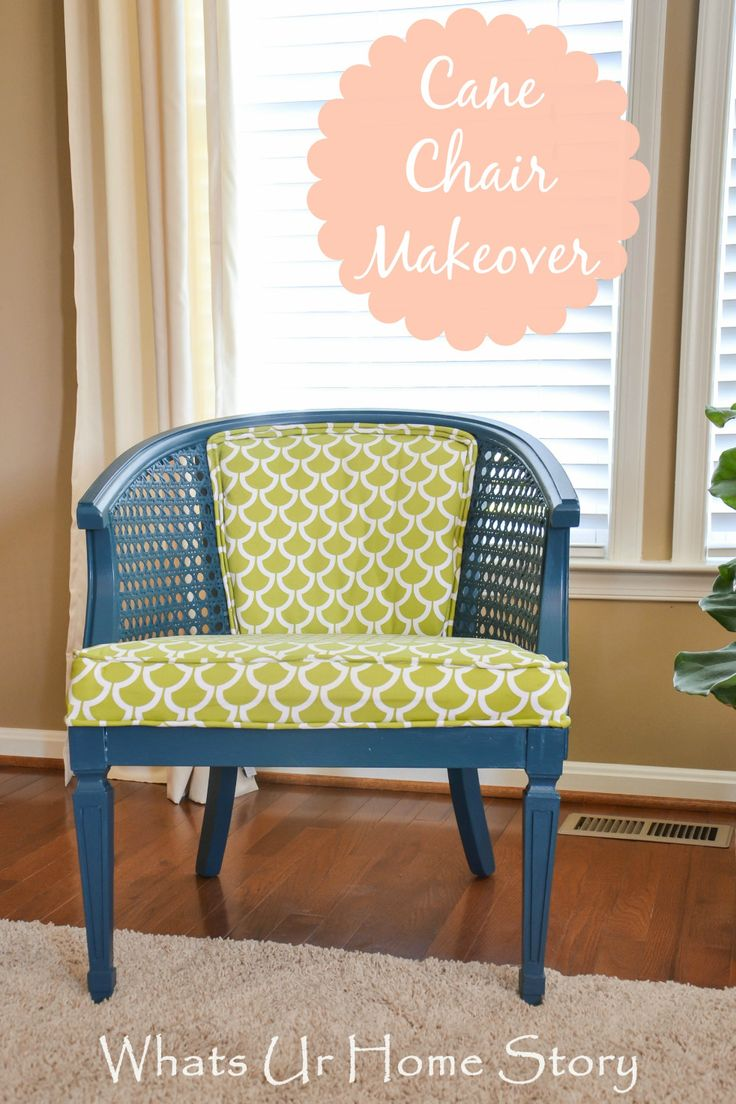 cane back  chair makeover, sew a seat cushion with piping, How to Sew a Seat Cushion with Piping