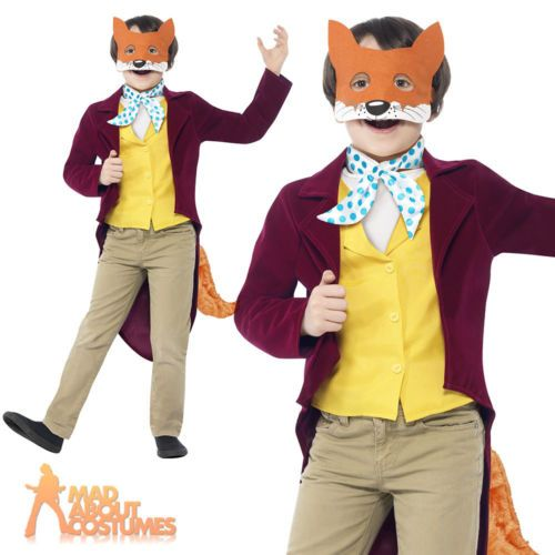 #Child #fantastic mr fox #costume roald dahl fancy dress book week outfit age 7-1,  View more on the LINK: 	http://www.zeppy.io/product/gb/2/181584012034/