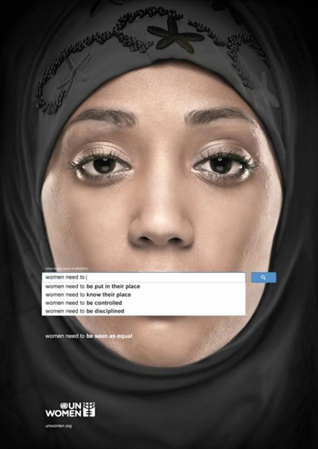 Autocomplete es una campaña lanzada por United Nations Women en colaboración con Ogilvy & Mather que persigue sensibilizar sobre la inequidad de género