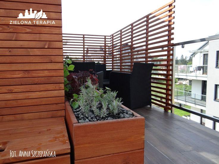 Ogród na balkonie - dla rodziny z dziećmi   http://ZielonaTerapia.pl/portfolio/ogrod-na-balkonie/