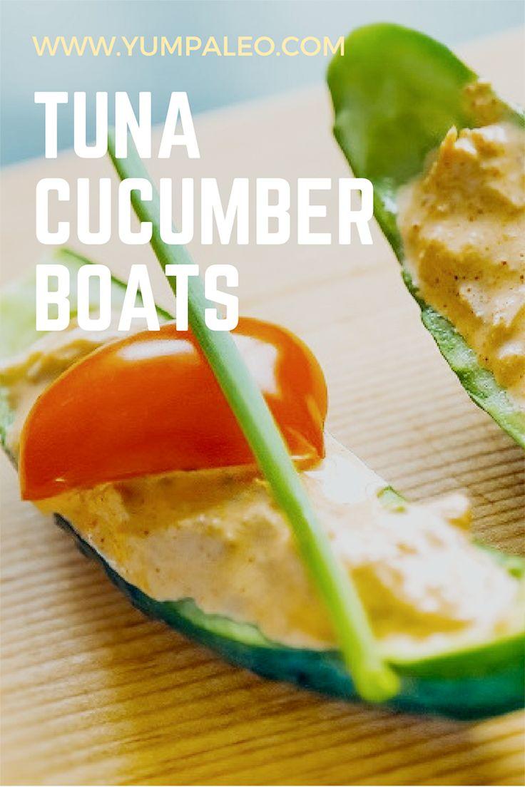 #yumpaleo #tuna #cucumberboats #delicious #seafood #foodporn #healthy #recipes