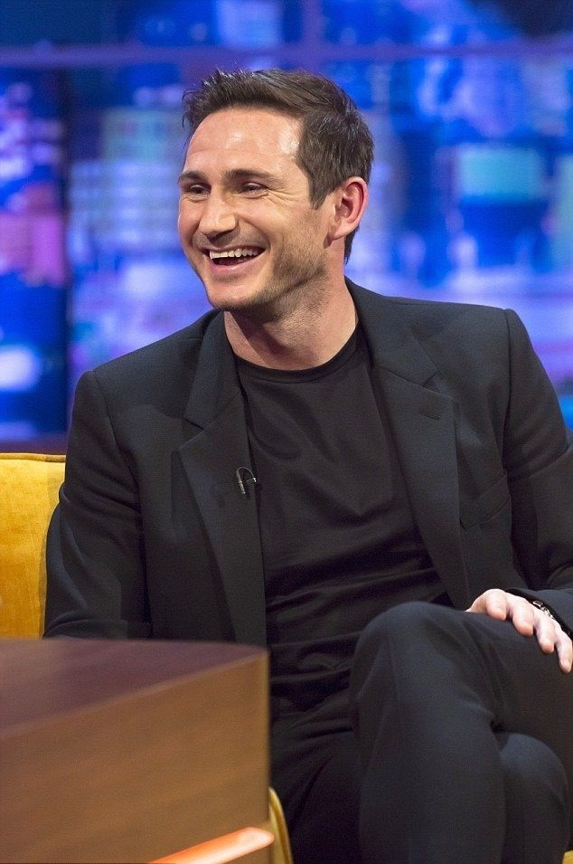 Frank Lampard.. P.S That Smile though :)
