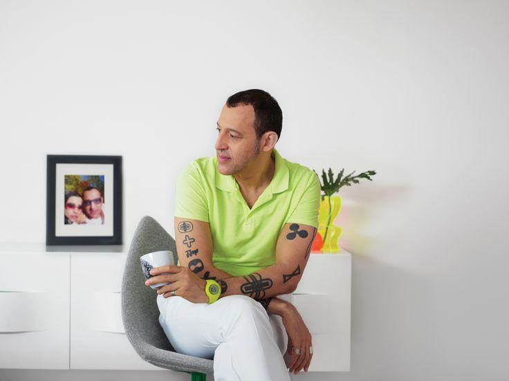 Карим Рашид на Миланском мебельном салоне 2013