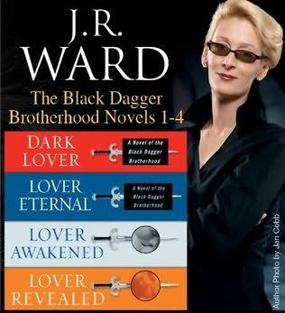 Fantastic Fiction  book cover of   J.R. Ward The Black Dagger Brotherhood Novels 1-4      (Black Dagger Brotherhood)    by    J R Ward