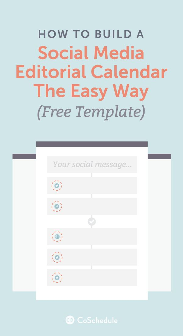 17 beste ideer om Social Media Template på Pinterest - social media calendar template