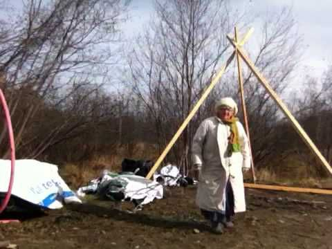 how to build a tipi