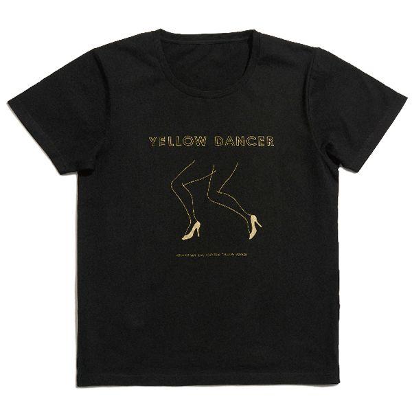 「YELLOW DANCER」BLACK T-shirts