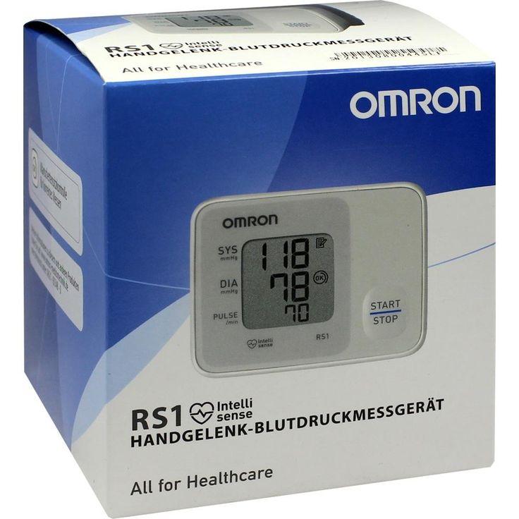 OMRON RS1 Handgelenk Blutdruckmessgerät vollautom:   Packungsinhalt: 1 St PZN: 01475975 Hersteller: OMRON Medizintechnik…