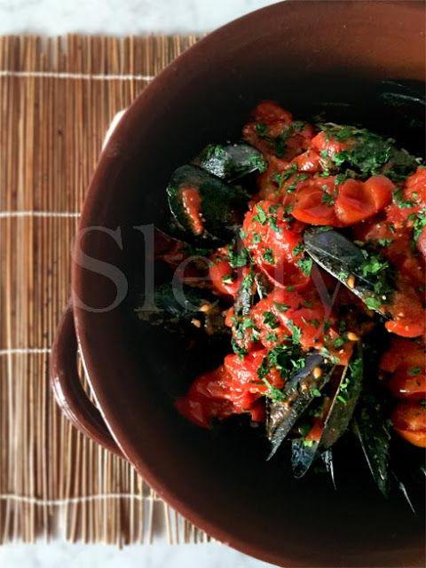 SLELLY: PICCOZZE - Cozze piccanti al pomodoro